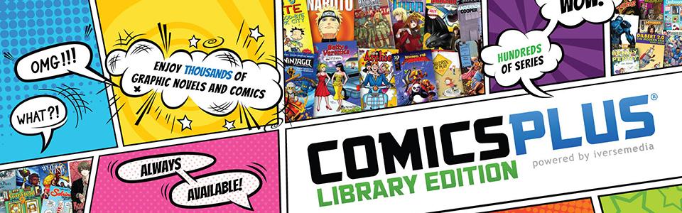 Comics Plus Banner